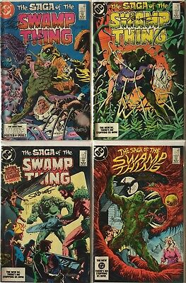 Swamp Thing #22-53, Annual #2 Signed TOTLEBEN, BISSETTE, YEATES, VEITCH, RANDALL