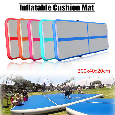 GoFun Airtrack Gonflable Tapis Air Tumbling Track Gymnastique Training Pad GYM