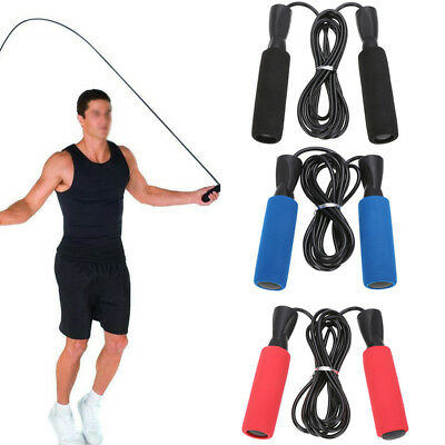 US Workout Jump Rope Bearing Speed Fitness Exercise Boxing Adult Kids Adjustable