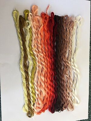 silk embroidery thread, Fine Chinese Silk for hand embroidery.