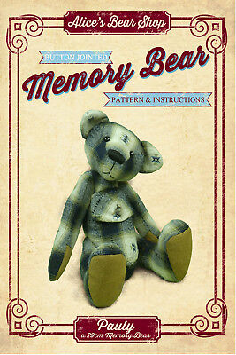 Sewing a Memory Bear - Pattern and Instructions Download - Pauly