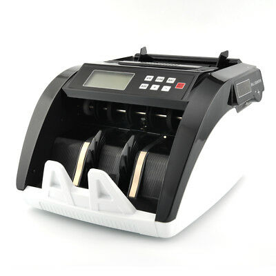 New Banknote Multi-Currency Bill Money Counter LCD Display Cash Counting Machine