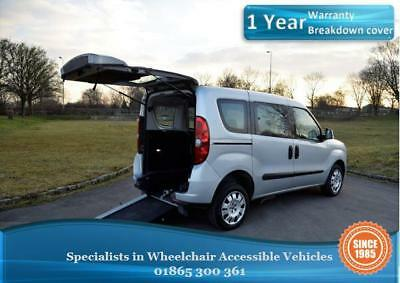 2012 Fiat Doblo, Petrol,  Wheelchair Accessible Vehicle, WAV, Disabled Car.