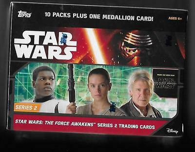 2016 Topps Star Wars The Force Awakens series 2 10 pack box factory sealed