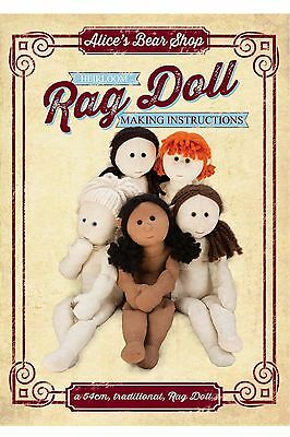 Sewing a Rag Doll Body - Pattern & Instructions Download + Free Tutorial Videos