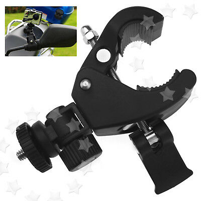 """Motorcycle Handle Bar Camera 1/4"""" Thread Mount Seatpost Mount Clamp For Gopro"""