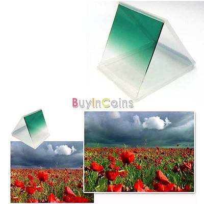 Graduated Gradual Green Color Lens Square Filter for Cokin P Series Brand New