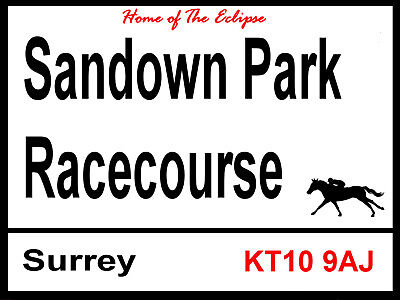 2 Sizes Available ideal for pub Hatdock Park Racecourse Sign bar Man Cave