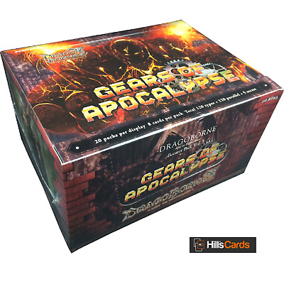Dragoborne - Rise To Supremacy: Gears Of Apocalypse Sealed Booster Box - DB-BT03