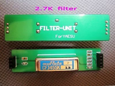 CW /SSB 2.7K narrowband filter compatible with YF-122S For YAESU FT-817/857/897
