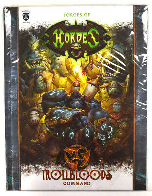 Forces of Hordes Trollbloods Command Hardcover PIP 1091