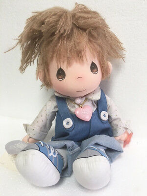 Precious Moments-Applause Collectible Boy Doll FLIPPY #4568 Orig Heart and Tags