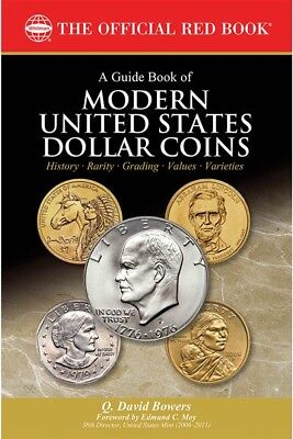 The New Official Red Guide Book US Modern Dollar Coins Classic Creation Gift