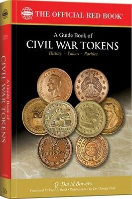 The New Official Red Book Guide Book of Civil War Tokens Whitman Free US