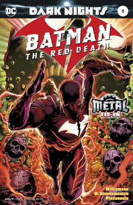 Batman The Red Death #1 Foil Cover First Print