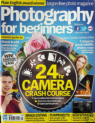 Photography For Beginners Magazine no 41 2014 24HR CAMERA CRASH COURSE PORTRAITS