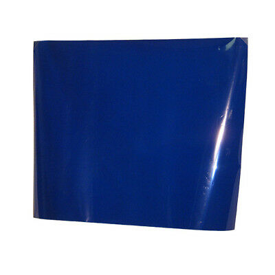 "MEDIUM BLUE #132 Color Gel Sheet Filter for Theater Stage Lights 20""x24"""