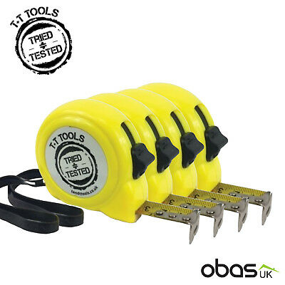 **4 Pack** 8m/26ft Trade Tape Measure | T+T