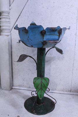 Large Metal Flower Planter Colorful Plant Stand