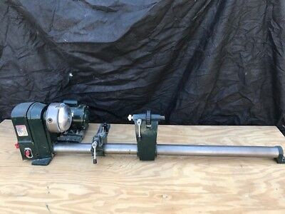 Central Machinery 5 Speed Wood Lathe. Used condition.