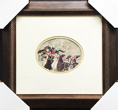 "Graciela Rodo Boulanger ""POLO I"" Newly CUSTOM FRAMED Print - Lithograph Art"