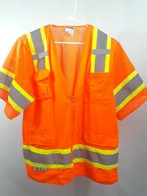 729660a5be3 RADIANS SV630 SAFETY Class 3 Heavy Duty Two-Tone Surveyor Reflective Vest  Medium