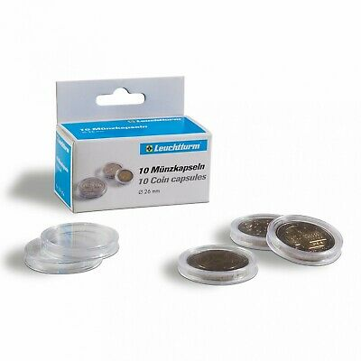 46mm Lighthouse Coin Capsules Direct Fit Medallion Holders 3 Packs 30