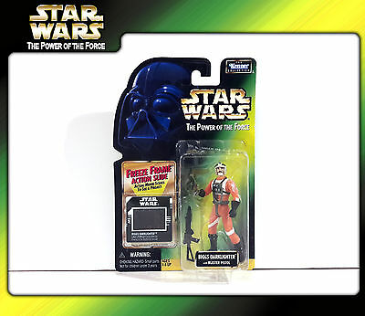 STAR WARS Power of the Force (POTF2): Biggs Darklighter (Freeze Frame) (OVP)