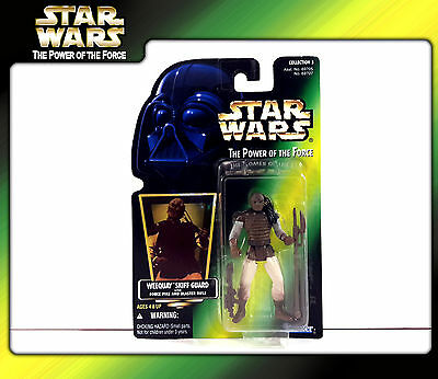 STAR WARS Power of the Force (POTF2): Weequay Skiff Guard (OVP)