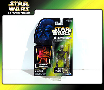 STAR WARS Power of the Force (POTF2): ASP-7 Droid (OVP)
