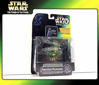 STAR WARS (POTF2) Electronic Power FX: Emperor Palpatine (OVP)