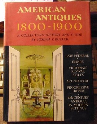 """American Antiques 1800-1900"" vintage book."