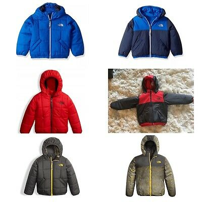 ccb4476ef THE NORTH FACE TODDLER BOYS REVERSIBLE PERRITO JACKET RED or BLUE 2T , 4T