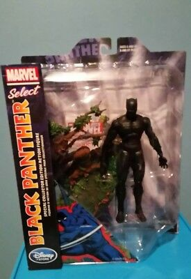 Marvel Select Black Panther Disney Store  Exclusive New!!!