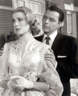 Frank Sinatra and Grace Kelly UNSIGNED photograph - L3692 - High Society