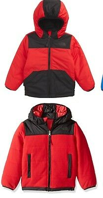 04589bba3f The North Face Toddler Boys Reversible True Or False Jacket Red   Black Sz  2T