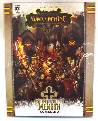 Forces of Warmachine Protectorate of Menoth Command Softcover PIP 1084