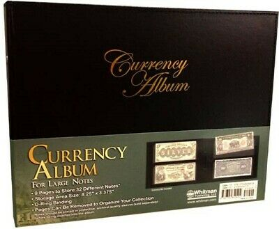 Currency Album For Large Size Banknotes Collection Set Collection Quality Gift