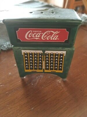 Vintage Coca Cola Salt And Pepper Shakers