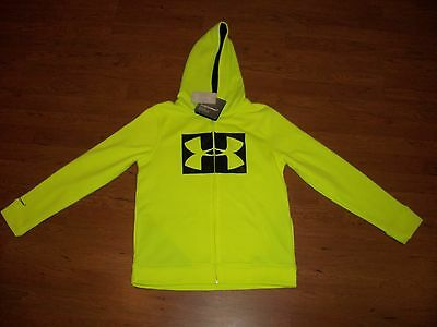 NWT boys youth Under Armour Storm zip up hoodie, size YSM $54.99