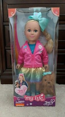 "Jojo Siwa My Life As Doll  Brand New  Never Opened   18"" Doll 🎀"