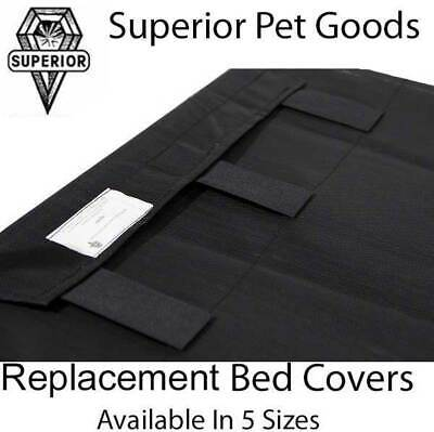 Superior Pet Goods Flea Free Heavy Duty Replacement Dog Bed Cover in XS,S,M,L,XL