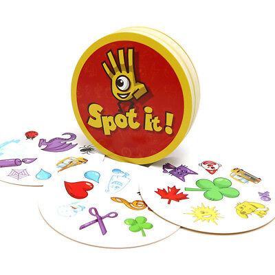 Spot it or Flash Pair kids game for family activities game cards game