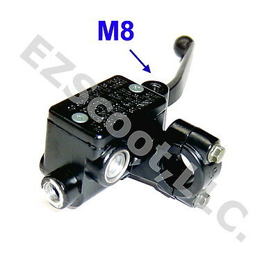 Hydraulic Brake Master Cylinder Right 22Mm Lever M8 Gy6 Scooter Moped Roketa Bms