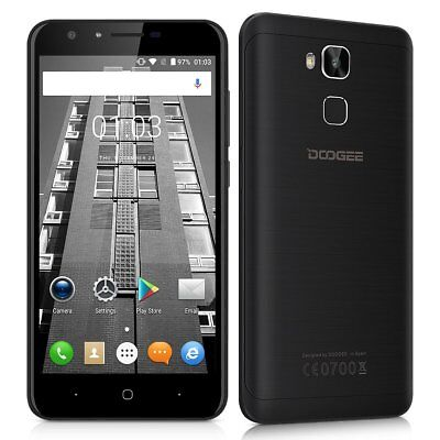 5,5'' DOOGEE 4G LTE Smartphone Android 6 Quad Core Dual SIM 16GB Dual 13MP Handy