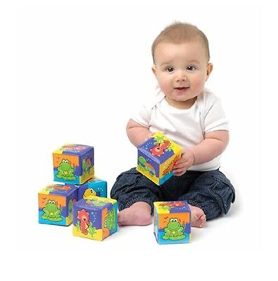 Soft Baby Blocks Toys For infant with cute animal designs bath time is more Fun