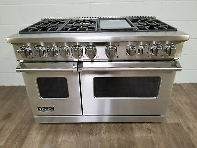 Viking Ultra Professional 7 Series Vdr7486gss 48 Inch Pro Style Dual Fuel Range
