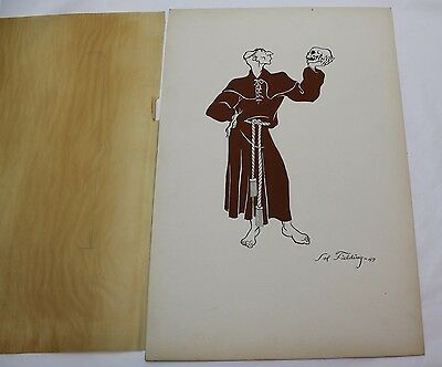1949 Drawing by Cartoon Artist, Sol Baer Fielding  * Known for Comic Strip Rusty