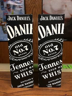 Rare Jack Daniels 2011 750Ml & 700Ml Empty Display Bottle Boxes -No Green Gold