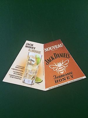 Rare Jack Daniels French Honey Display Bottle Tag -No 150Th Decnater